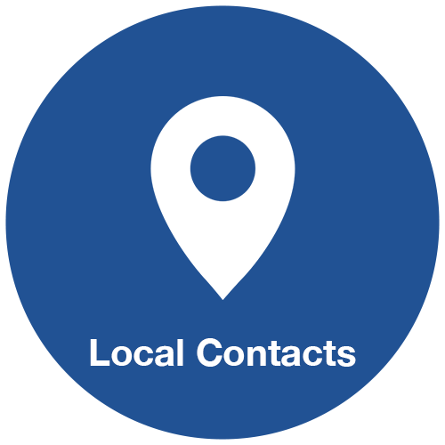 Local Contacts Hover Symbol