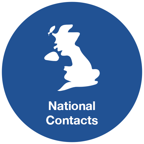 National Contacts Hover Symbol