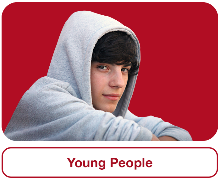 Young People Section Image
