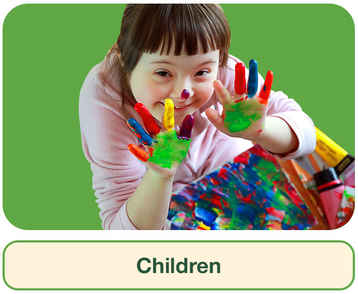 Children Section Hover Image